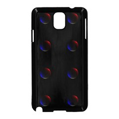 Tranquil Abstract Pattern Samsung Galaxy Note 3 Neo Hardshell Case (black)