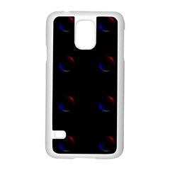 Tranquil Abstract Pattern Samsung Galaxy S5 Case (white)