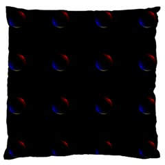 Tranquil Abstract Pattern Standard Flano Cushion Case (one Side)