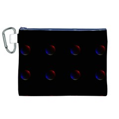 Tranquil Abstract Pattern Canvas Cosmetic Bag (XL)