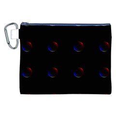 Tranquil Abstract Pattern Canvas Cosmetic Bag (XXL)