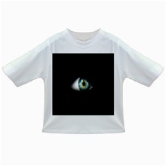 Eye On The Black Background Infant/Toddler T-Shirts