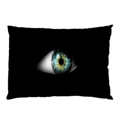 Eye On The Black Background Pillow Case (Two Sides)