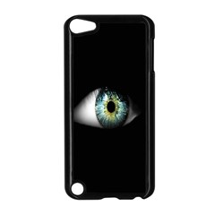 Eye On The Black Background Apple iPod Touch 5 Case (Black)