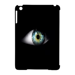 Eye On The Black Background Apple Ipad Mini Hardshell Case (compatible With Smart Cover)