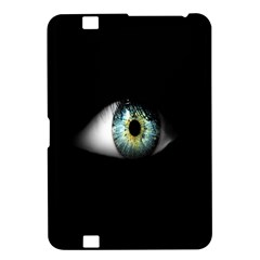 Eye On The Black Background Kindle Fire Hd 8 9