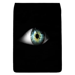 Eye On The Black Background Flap Covers (S)