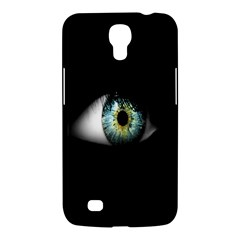 Eye On The Black Background Samsung Galaxy Mega 6 3  I9200 Hardshell Case