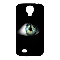 Eye On The Black Background Samsung Galaxy S4 Classic Hardshell Case (PC+Silicone)