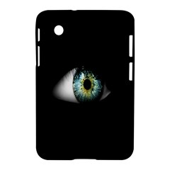Eye On The Black Background Samsung Galaxy Tab 2 (7 ) P3100 Hardshell Case