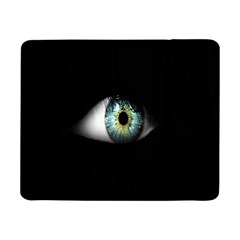 Eye On The Black Background Samsung Galaxy Tab Pro 8 4  Flip Case