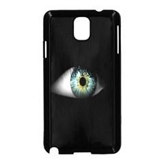 Eye On The Black Background Samsung Galaxy Note 3 Neo Hardshell Case (Black)