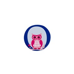 Alphabet Letter O With Owl Illustration Ideal For Teaching Kids 1  Mini Magnets