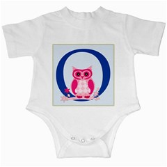 Alphabet Letter O With Owl Illustration Ideal For Teaching Kids Infant Creepers