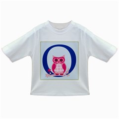 Alphabet Letter O With Owl Illustration Ideal For Teaching Kids Infant/toddler T Shirts