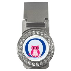 Alphabet Letter O With Owl Illustration Ideal For Teaching Kids Money Clips (CZ)