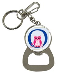 Alphabet Letter O With Owl Illustration Ideal For Teaching Kids Button Necklaces