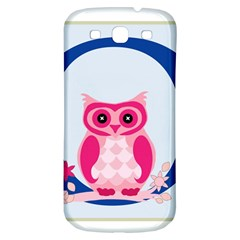 Alphabet Letter O With Owl Illustration Ideal For Teaching Kids Samsung Galaxy S3 S III Classic Hardshell Back Case