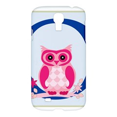 Alphabet Letter O With Owl Illustration Ideal For Teaching Kids Samsung Galaxy S4 I9500/i9505 Hardshell Case