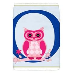Alphabet Letter O With Owl Illustration Ideal For Teaching Kids Flap Covers (s)