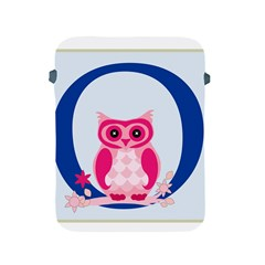 Alphabet Letter O With Owl Illustration Ideal For Teaching Kids Apple Ipad 2/3/4 Protective Soft Cases