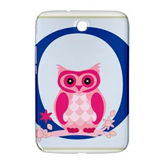 Alphabet Letter O With Owl Illustration Ideal For Teaching Kids Samsung Galaxy Note 8.0 N5100 Hardshell Case