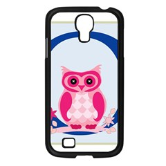 Alphabet Letter O With Owl Illustration Ideal For Teaching Kids Samsung Galaxy S4 I9500/ I9505 Case (black)