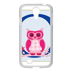 Alphabet Letter O With Owl Illustration Ideal For Teaching Kids Samsung Galaxy S4 I9500/ I9505 Case (white)