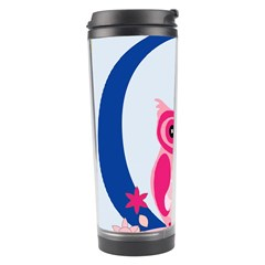 Alphabet Letter O With Owl Illustration Ideal For Teaching Kids Travel Tumbler