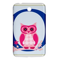 Alphabet Letter O With Owl Illustration Ideal For Teaching Kids Samsung Galaxy Tab 3 (7 ) P3200 Hardshell Case