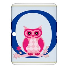 Alphabet Letter O With Owl Illustration Ideal For Teaching Kids Samsung Galaxy Tab 3 (10.1 ) P5200 Hardshell Case