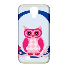 Alphabet Letter O With Owl Illustration Ideal For Teaching Kids Samsung Galaxy S4 Classic Hardshell Case (PC+Silicone)