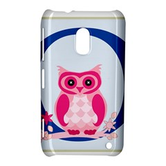 Alphabet Letter O With Owl Illustration Ideal For Teaching Kids Nokia Lumia 620