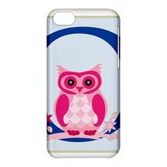 Alphabet Letter O With Owl Illustration Ideal For Teaching Kids Apple Iphone 5c Hardshell Case