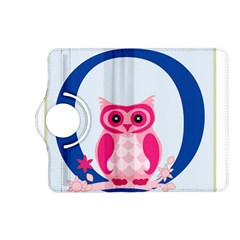 Alphabet Letter O With Owl Illustration Ideal For Teaching Kids Kindle Fire Hd (2013) Flip 360 Case
