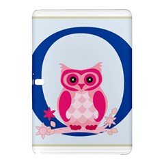 Alphabet Letter O With Owl Illustration Ideal For Teaching Kids Samsung Galaxy Tab Pro 10 1 Hardshell Case