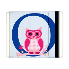 Alphabet Letter O With Owl Illustration Ideal For Teaching Kids Samsung Galaxy Tab Pro 8.4  Flip Case