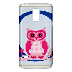 Alphabet Letter O With Owl Illustration Ideal For Teaching Kids Galaxy S5 Mini