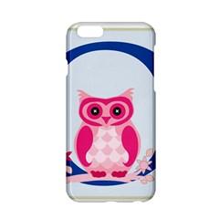Alphabet Letter O With Owl Illustration Ideal For Teaching Kids Apple Iphone 6/6s Hardshell Case