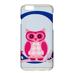 Alphabet Letter O With Owl Illustration Ideal For Teaching Kids Apple iPhone 6 Plus/6S Plus Hardshell Case