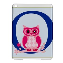 Alphabet Letter O With Owl Illustration Ideal For Teaching Kids iPad Air 2 Hardshell Cases