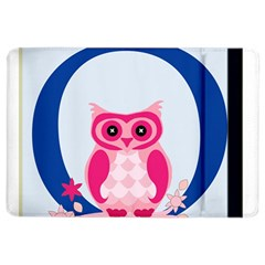 Alphabet Letter O With Owl Illustration Ideal For Teaching Kids iPad Air 2 Flip