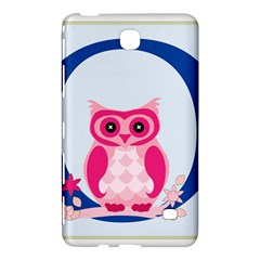 Alphabet Letter O With Owl Illustration Ideal For Teaching Kids Samsung Galaxy Tab 4 (7 ) Hardshell Case