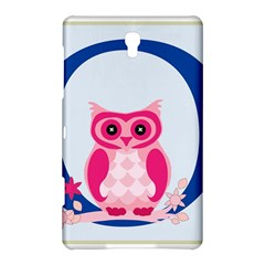 Alphabet Letter O With Owl Illustration Ideal For Teaching Kids Samsung Galaxy Tab S (8.4 ) Hardshell Case