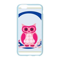 Alphabet Letter O With Owl Illustration Ideal For Teaching Kids Apple Seamless iPhone 6/6S Case (Color)