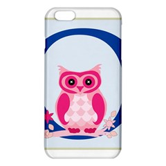 Alphabet Letter O With Owl Illustration Ideal For Teaching Kids iPhone 6 Plus/6S Plus TPU Case