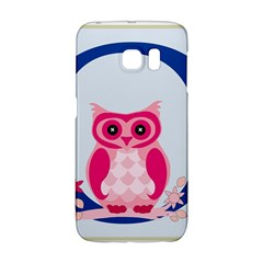 Alphabet Letter O With Owl Illustration Ideal For Teaching Kids Galaxy S6 Edge