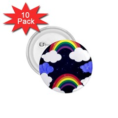 Rainbow Animation 1.75  Buttons (10 pack)