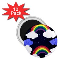 Rainbow Animation 1 75  Magnets (10 Pack)