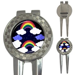 Rainbow Animation 3-in-1 Golf Divots